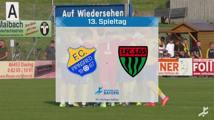FC Pipinsried - 1. FC Schweinfurt 05, 2:2