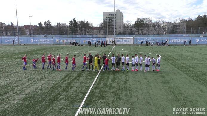 Spiel TSV 1860 München U19 - SpVgg Unterhaching U19 (U19-Bayernliga)