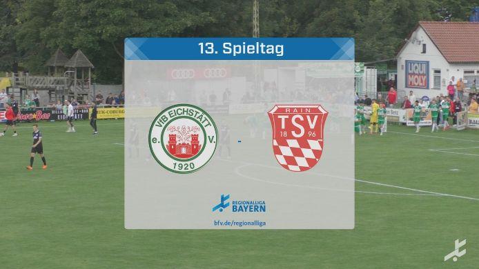 VfB Eichstätt - TSV Rain am Lech, 0:1