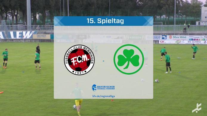 FC Memmingen - SpVgg Greuther Fürth II, 3:3