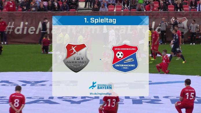 TSV Aubstadt - SpVgg Unterhaching, 0:0