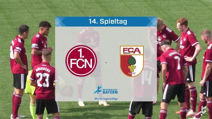 1. FC Nürnberg II - FC Augsburg II, 0:3