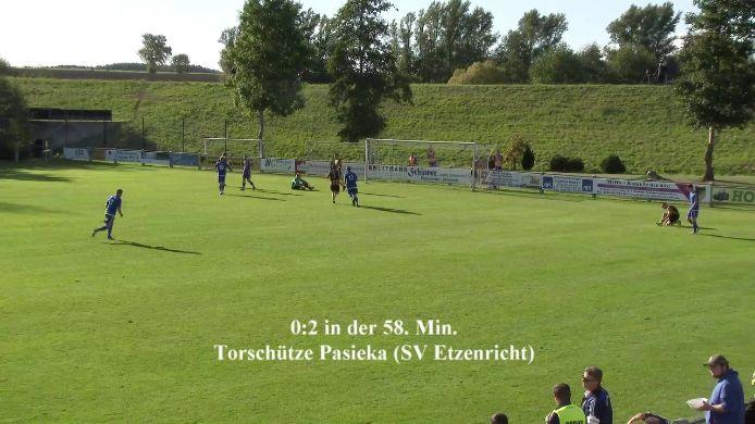 Zusammenfassung Tore SV Kulmain gegen SV Etzenricht, 1:5