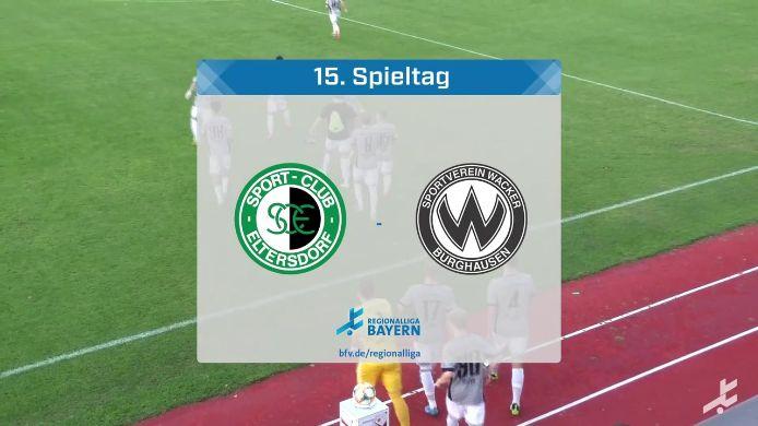 SC Eltersdorf - SV Wacker Burghausen, 1:5