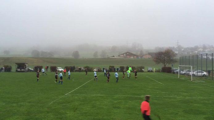 Tor zum 1:1 durch den TSV Oberbeuren