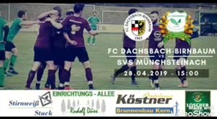 FC Dachsbach-Birnbaum - SV Steigerwald-Münchsteinach