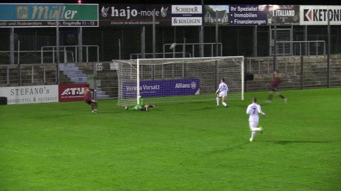 SpVgg SV Weiden - SV TuS/DJK Grafenwöhr 2:0 (0:0)