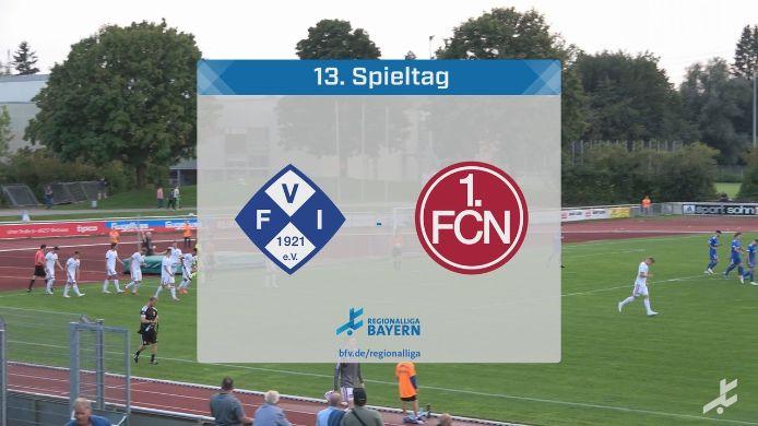 FV Illertissen - 1. FC Nürnberg II, 2:4