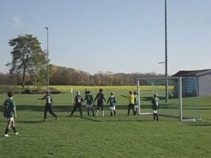 Goal from the corner