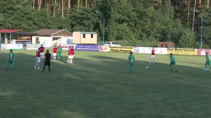 Zusammenfassung SV Etzenricht gegen 1. FC Schlicht, 2:1