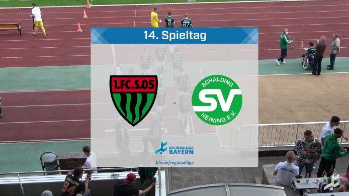 1. FC Schweinfurt 05 - SV Schalding-Heining, 6:0