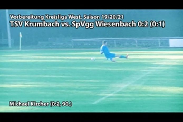 TSV Krumbach vs. SpVgg Wiesenbach, 0:2
