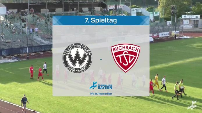 SV Wacker Burghausen - TSV Buchbach, 1:1