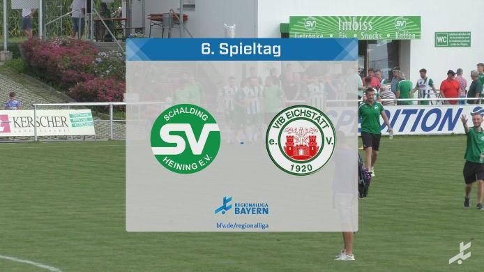 SV Schalding-Heining - VfB Eichstätt, 1:3