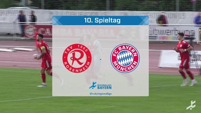 TSV 1860 Rosenheim - FC Bayern München II, 0:6