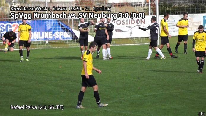 SpVgg Krumbach vs. SV Neuburg - 11er, 3:0