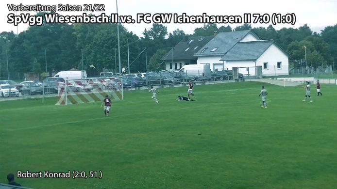 Wiesenbach II vs. Grün Weiß II, 7:0