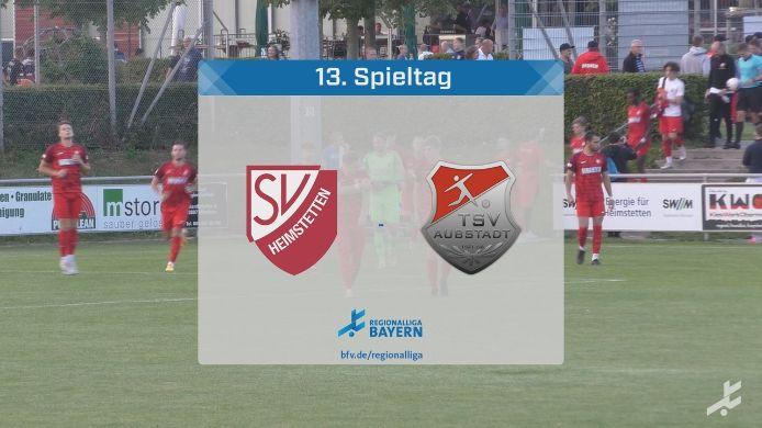 SV Heimstetten - TSV Aubstadt, 1:4