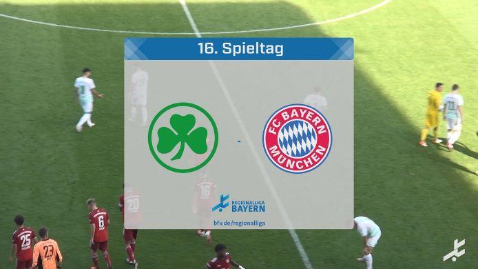 SpVgg Greuther Fürth II - FC Bayern München II, 0:3