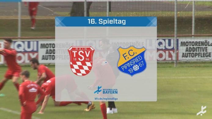 TSV Rain/Lech - FC Pipinsried, 4:3
