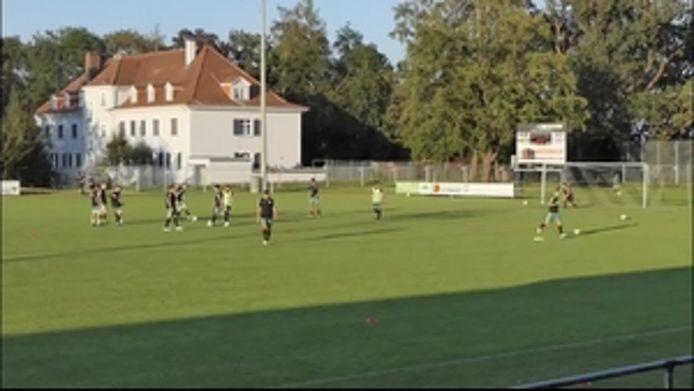 Zum Torfestival wurde das Spiel des FC Töging gegen den TSV Grünwald, 6:2