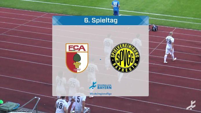 FC Augsburg II - SpVgg Bayreuth, 2:6