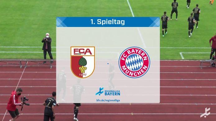FC Augsburg II - FC Bayern München II, 0:3