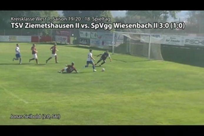 TSV II vs. SpVgg II, 3:0