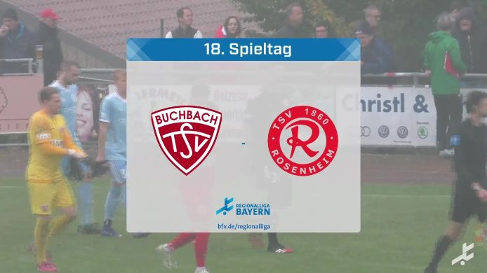 TSV Buchbach - TSV 1860 Rosenheim, 1:0
