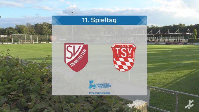 SV Heimstetten - TSV Rain/Lech, 3:1