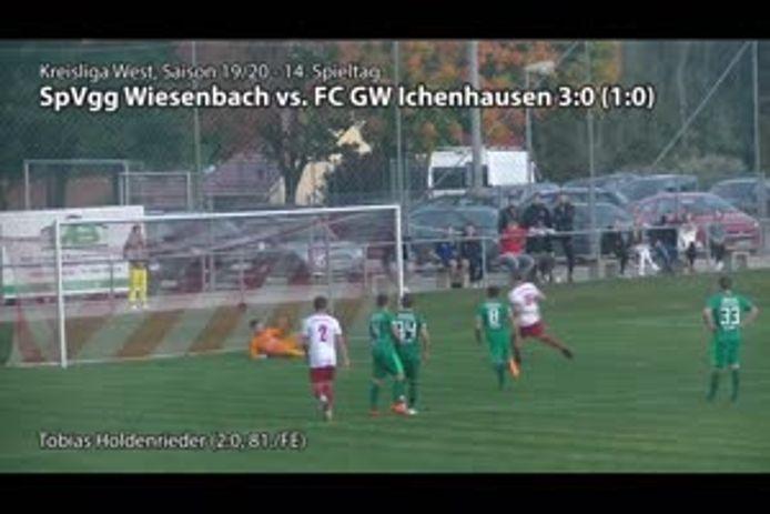 SpVgg Wiesenbach - FC GW Ichenhausen