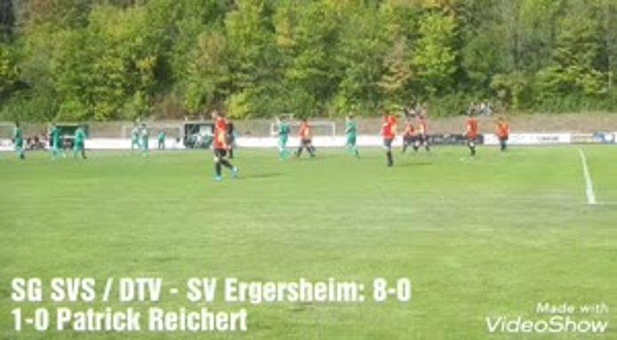 SG Steigerwald-Münchsteinach-Diespeck - SV Ergersheim