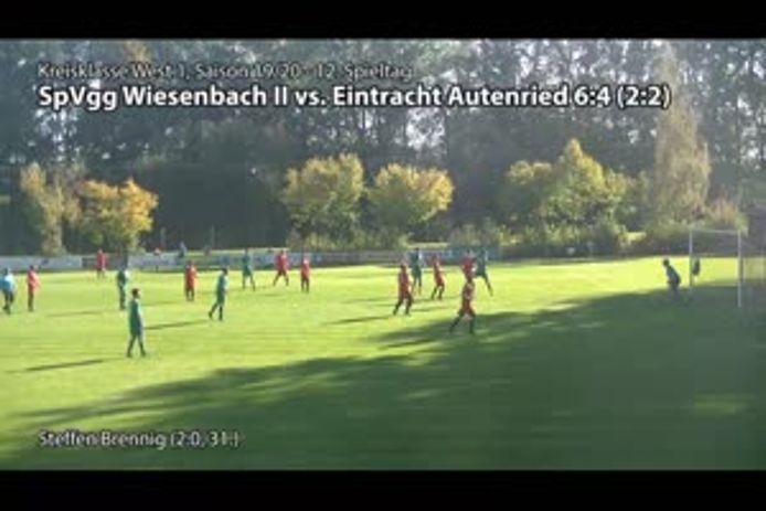 SpVgg Wiesenbach II - GV Eintracht Autenried