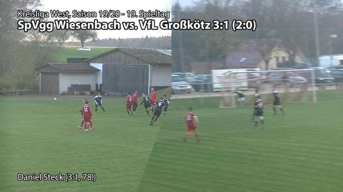 SpVgg Wiesenbach vs. VfL Großkötz