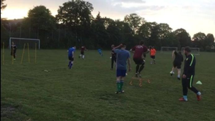 Trainingsession, 3:2