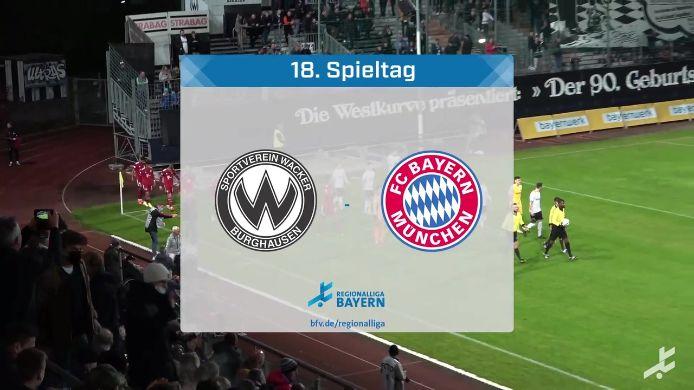 SV Wacker Burghausen - FC Bayern München II, 2:2