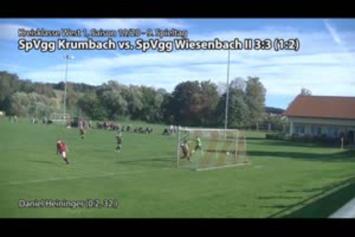 SpVgg Krumbach - SpVgg Wiesenbach II