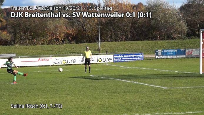 DJK vs. SVW, 0:1