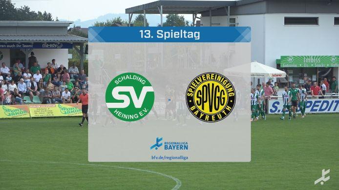SV Schalding-Heining - SpVgg Bayreuth, 0:1
