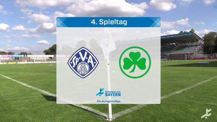 Viktoria Aschaffenburg - SpVgg Greuther Fürth II, 2:2