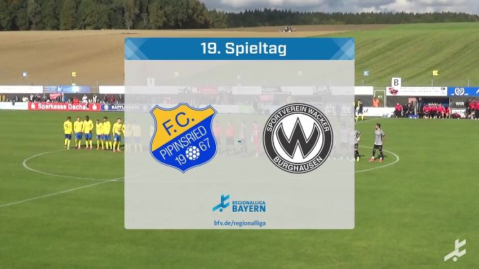 FC Pipinsried - SV Wacker Burghausen, 1:0