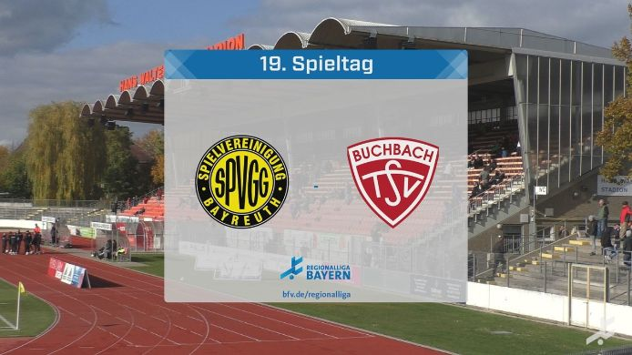 SpVgg Bayreuth - TSV Buchbach, 1:1