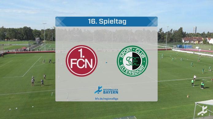 1. FC Nürnberg II - SC Eltersdorf, 1:3