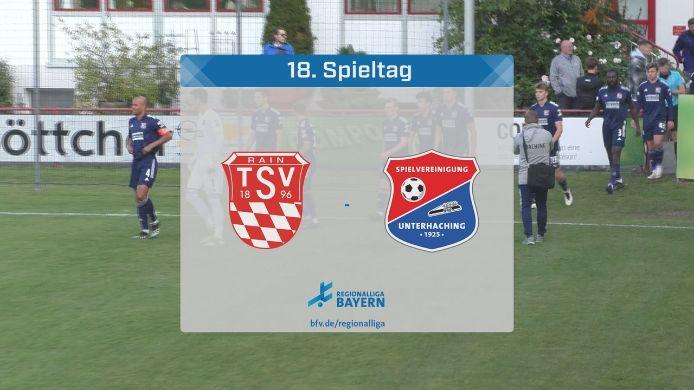 TSV Rain/Lech - SpVgg Unterhaching, 2:1