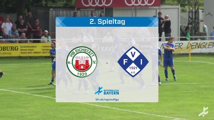 VfB Eichstätt - FV Illertissen, 1:1