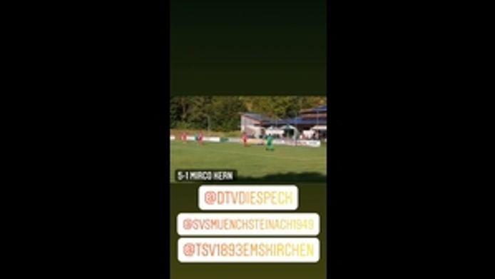 SG Münchsteinach / Diespeck - TSV Emskirchen, 5:1