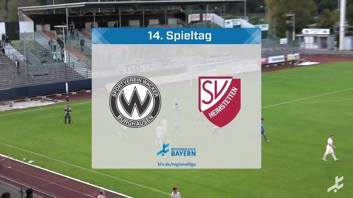 SV Wacker Burghausen - SV Heimstetten, 0:3