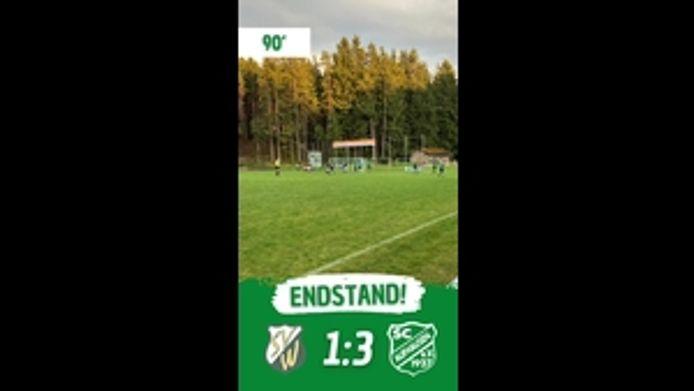 SV-DJK Wittibreut - SC Aufhausen, 1-3