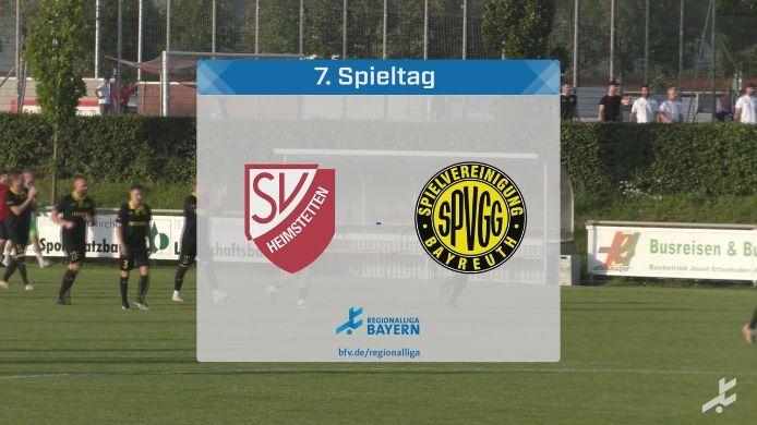 SV Heimstetten - SpVgg Bayreuth, 2:3