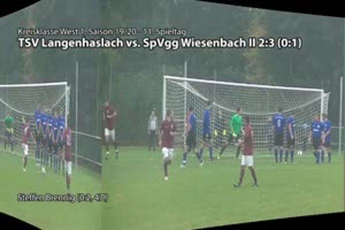 TSV Langenhaslach - SpVgg Wiesenbach II
